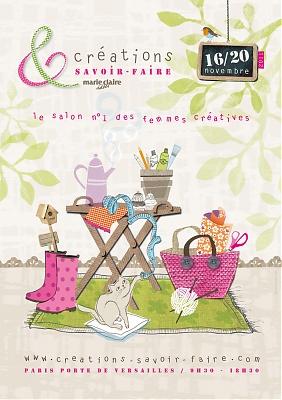 Salon cr ation savoir faire du 16 au 20 novembre 2011 - Salon creations savoir faire invitation ...