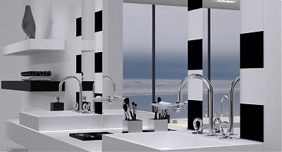 nouveaut salle de bains collection o du studio putman pour christofle par thg un je ne sais. Black Bedroom Furniture Sets. Home Design Ideas