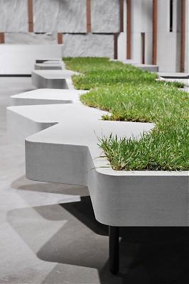 Ev nement jardins jardin aux tuileries les tendances - Banc design exterieur ...