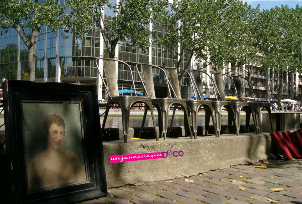 Brocante au canal Saint Martin - Paris