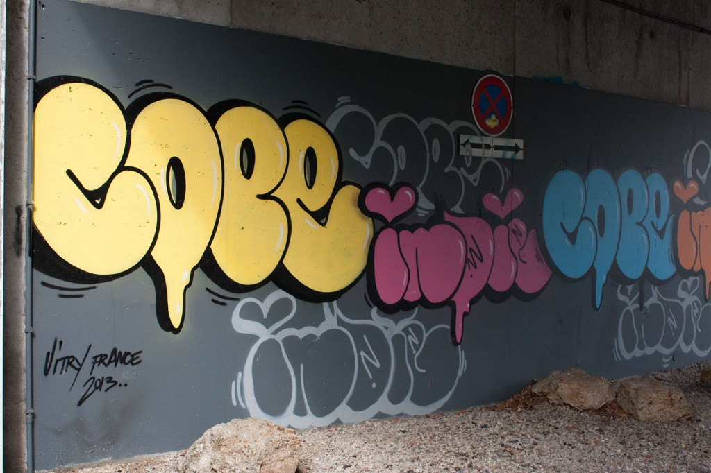 Cope 2 et Indie 184 (New York) - Vitry sur Seine, France(Photo M. Cozanet 2013)http://indie184.comhttp://www.12ozprophet.com/news/cope_2-and-indie_184-in-vitry-france-for-project-street_art