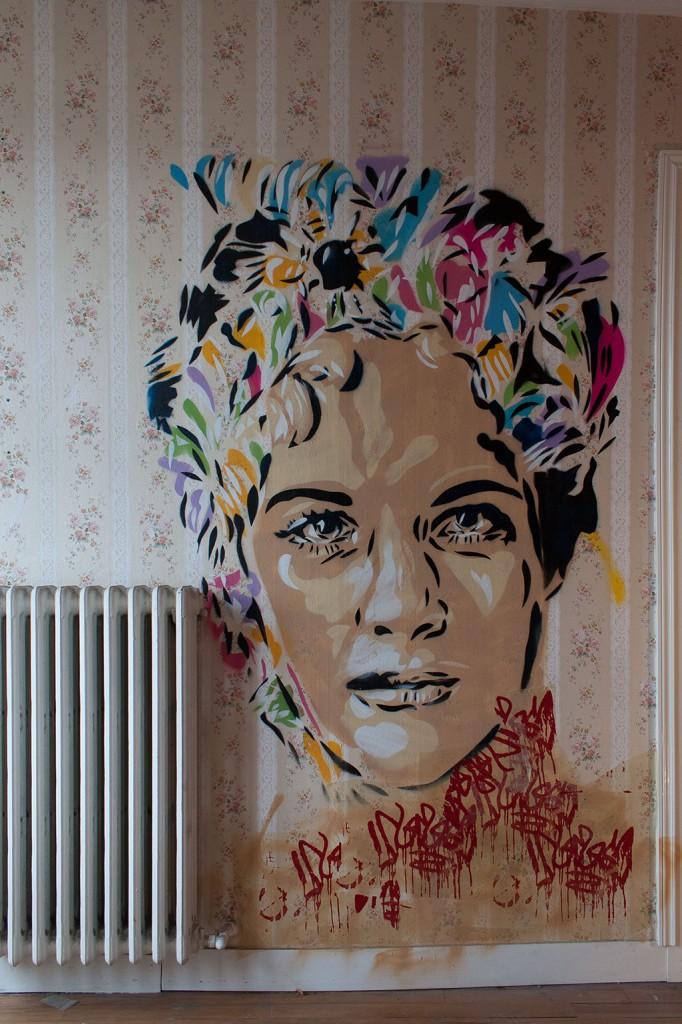 Uriginal (Espagne) - Tour Paris 13 - Expo Street Art éphémère octobre 2013, Paris(Photo M. Cozanet 2013)