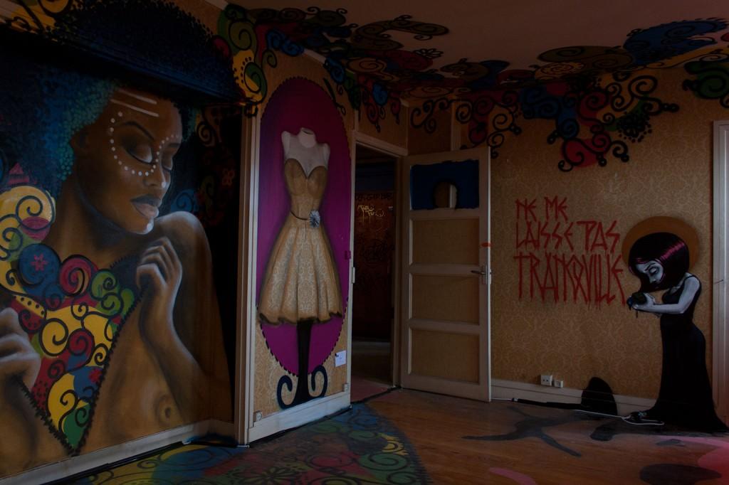 Loiola (Brésil) - Tour Paris 13 - Expo Street Art éphémère octobre 2013, Paris(Photo M. Cozanet 2013)
