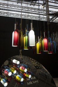 "Suspension ""Jar RGB"" by arik levy pour Lasvit, MAISON & OBJET Janvier 2014(Photo C. Cozanet 2014)"