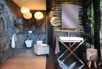 Salle de bains inspirations et tendances id o bain - A quoi sert un bidet dans une salle de bain ...