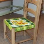 L'art de Félicité L. s'invite sur une chaise d'enfant