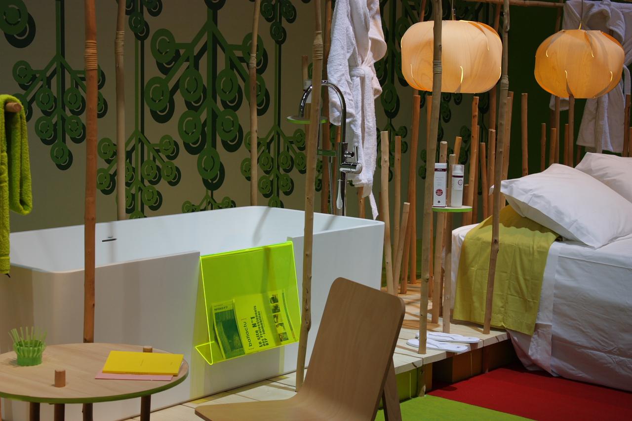 Projet Hi.soon de matali crasset  (Grand Prix de la Salle de Bains d'Hôtel 2010)