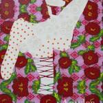 Toile Mademoiselle M d'Amylee