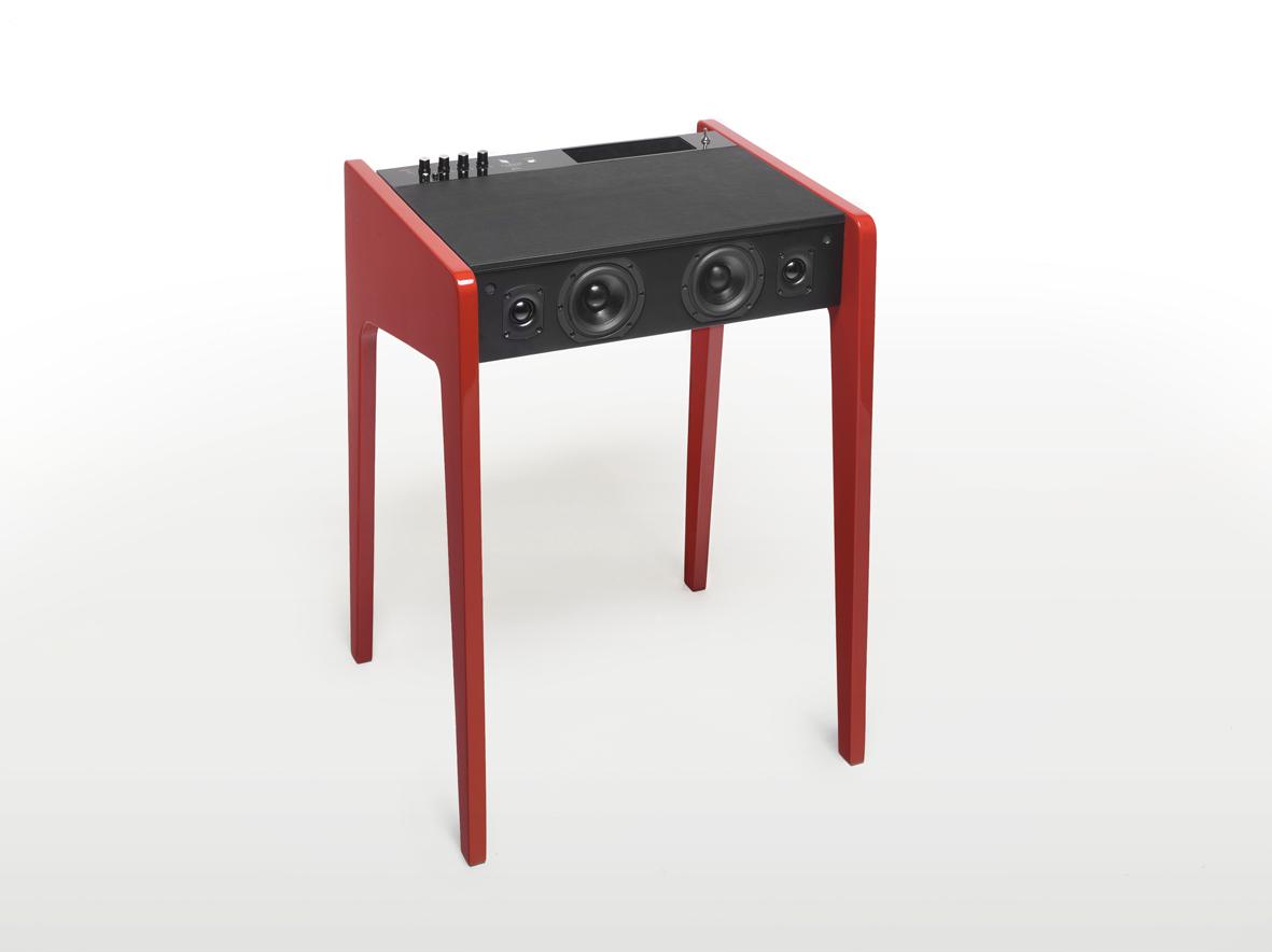 enceinte acoustique ld 120 de la boite concept un je ne. Black Bedroom Furniture Sets. Home Design Ideas