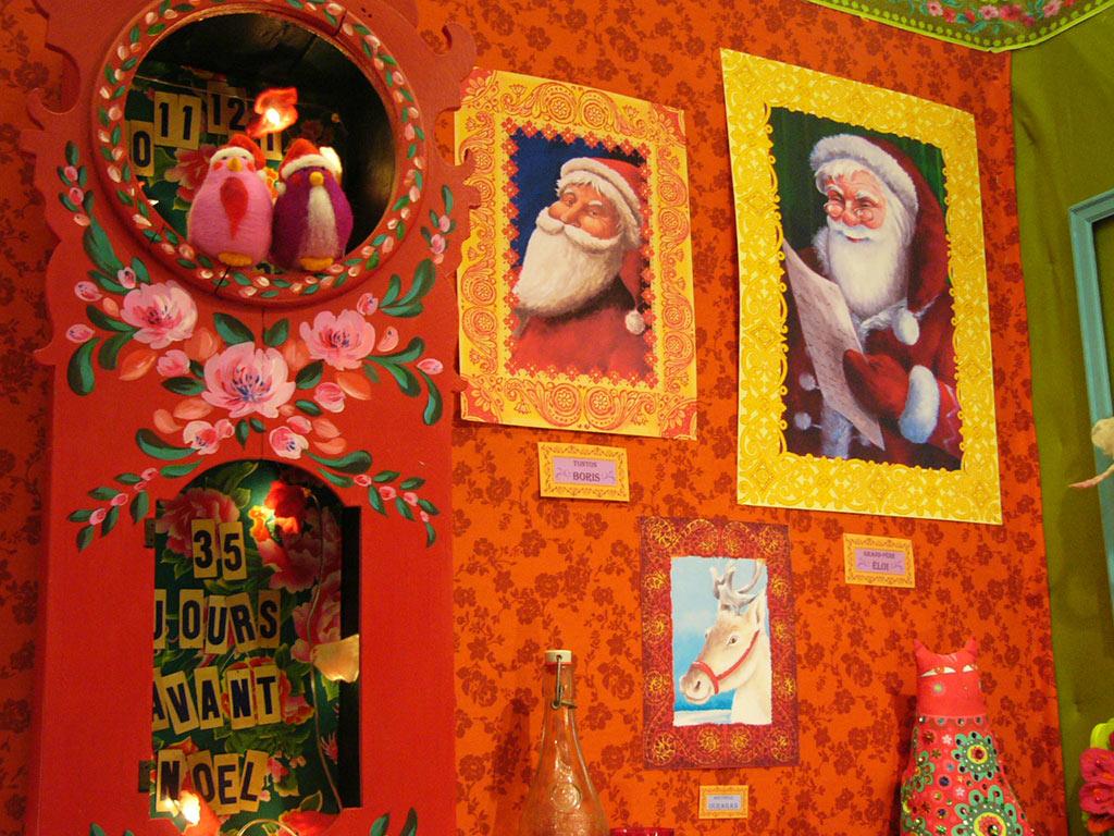 Salon Créations & Savoir-faire 2012 Dans l'atelier du père Noël par Odile Bailloeul