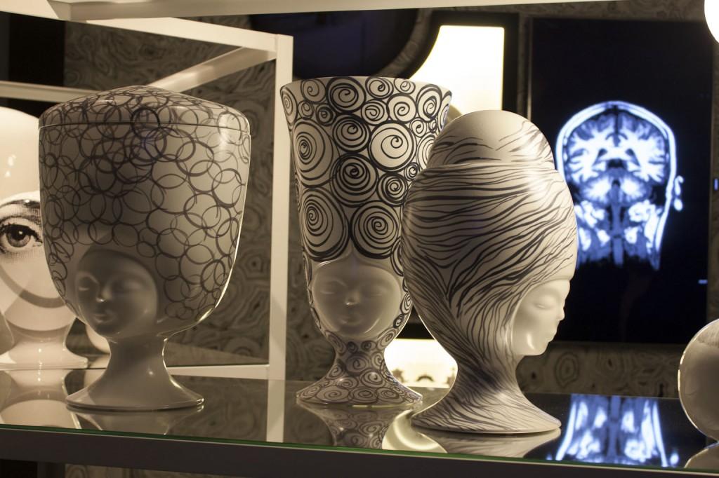 """Vases """"Sister Louise"""", """"Sister Sofia"""" et """"Sister Helen design Pepa Reverter pour Bosa"""