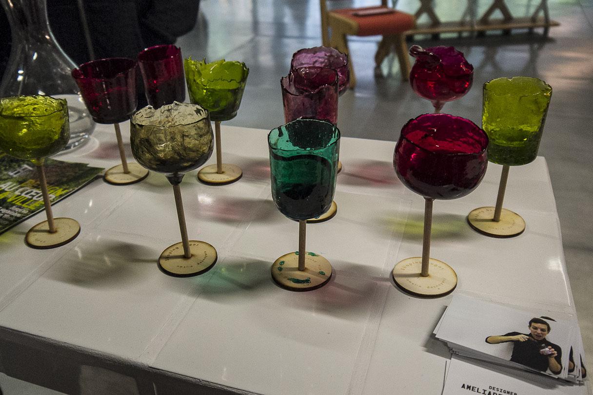 """""""Shaping Sugar"""" par la designer Amélia Desnoyers"""