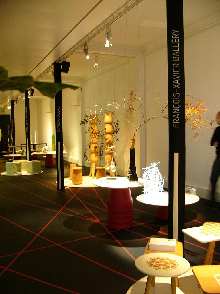 Exposition Particule 14 Paris Design Week 2011