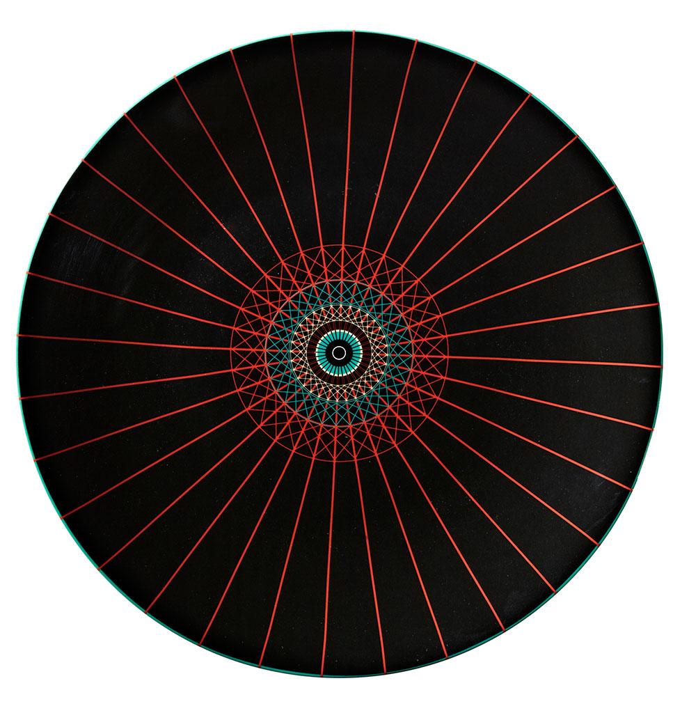 """Service """"OMBRELLES"""" Design : CFOC Porcelaine fine Manufacture Royal Limoges"""