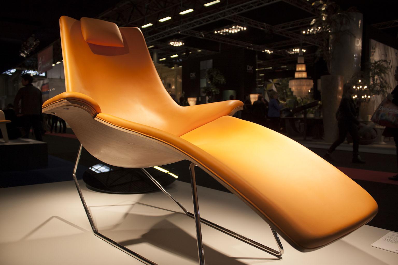 Fauteuil relax Max, Moïse Studio, VIA Design, Maison et objet janvier 2014