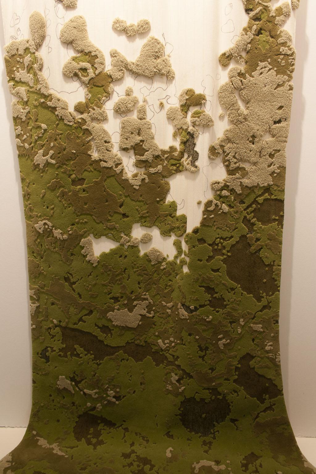 Foliage, Sam Baron - Fabrica, elsewhere : landscape, Elizabeth Leriche, Maison et objet janvier 2014