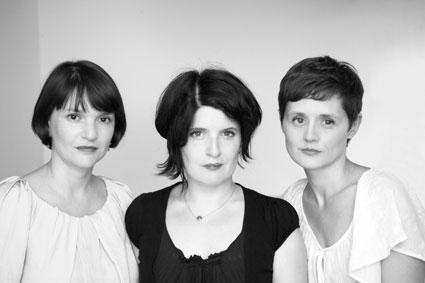 Sophie Adary, Caroline Diaz et Céline Heno