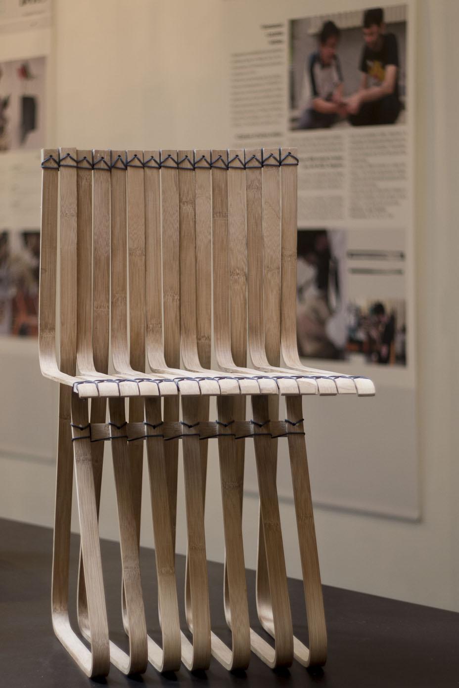 Chaise en bambou - D'Days 2014 - Hand in Hand / Paris - Taiwan  par David des Moutis