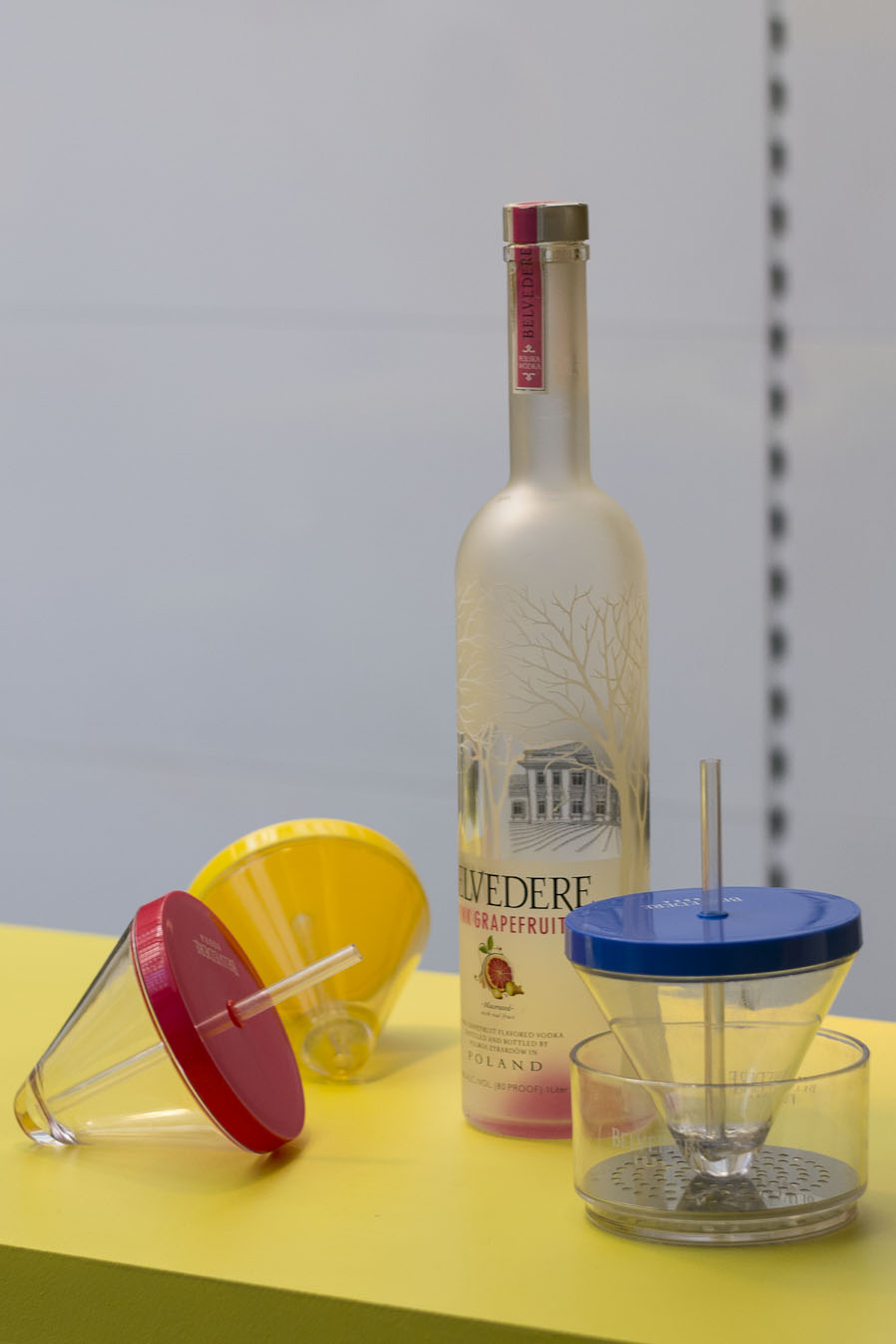 I-Cone glass pour Belvedere vodka - 5.5 DesignStudio