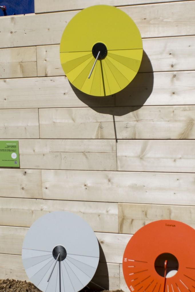 Cadran solaire LAORUS par Patrick Nadeau