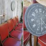 """Horloges """"Les petites récoltes de Bazainville"""""""