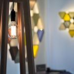 Les Cosmogonies - structures lumineuses papier de Victoria Magniant et Antoine Pradels