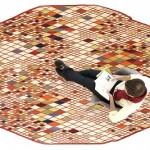 Tapis Losanges par Ronan & Erwan Bouroullec