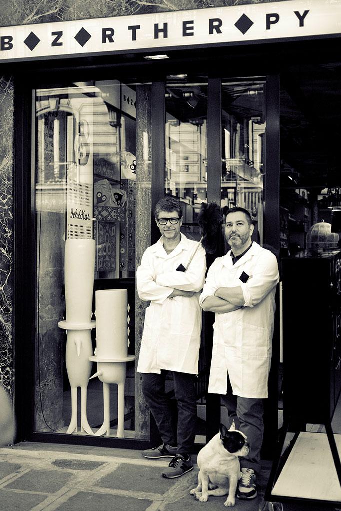 Pascal Bildstein et Emanuel Attali