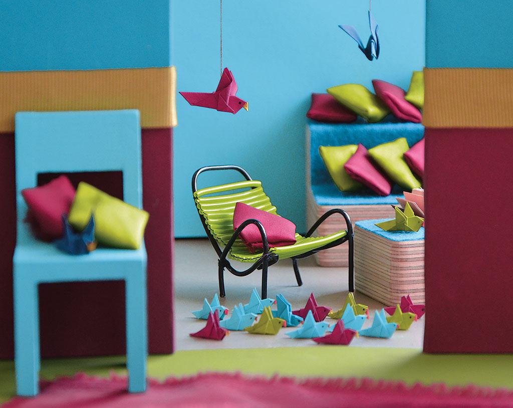 L'univers Splendeur mis en scène à travers des maisons de poupées © Mercadier
