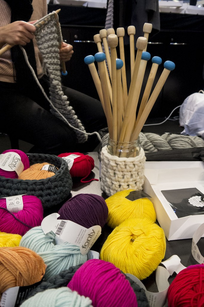 Ateliers tricot chez Woolkiss