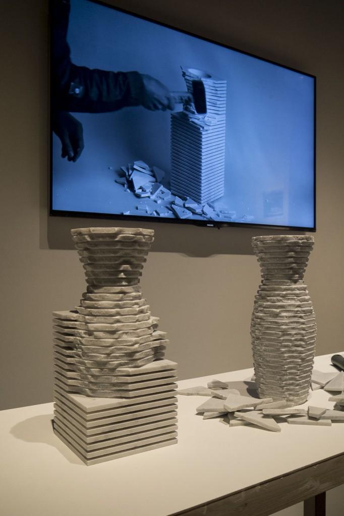 Introverso par Paolo Ulian des vases à la dougle personnalité.