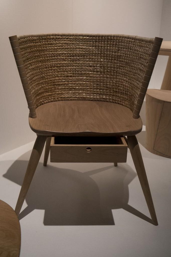 Brodgar chair par Gareth Neal
