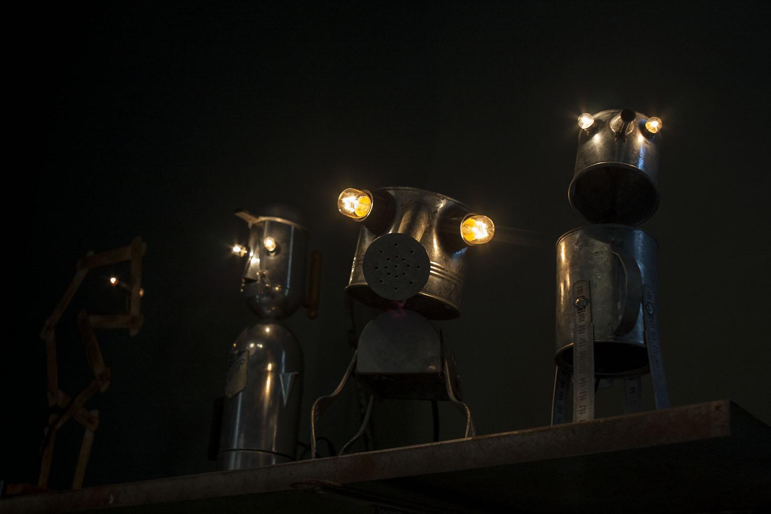 Objets inventés - Philippe Bouveret - Craft - Atelier métal