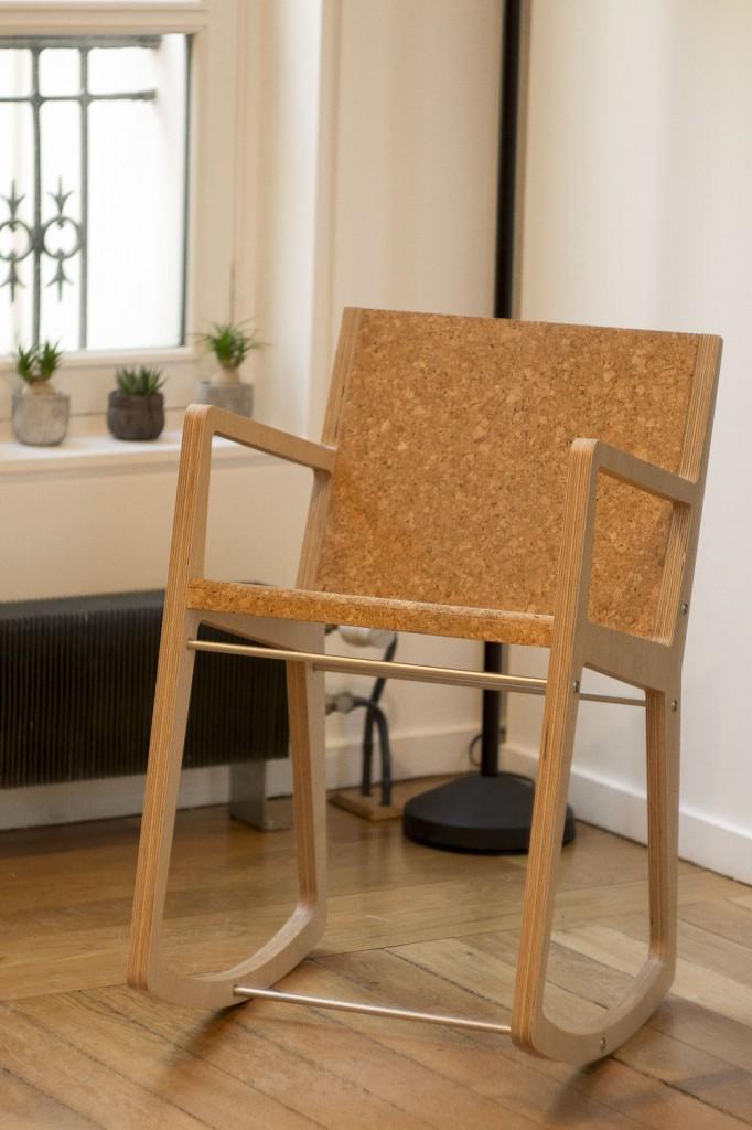 Rocking-chair design Clément Diaz - Séries Limitées