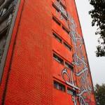 Tour Paris 13 - Expo Street Art éphémère octobre 2013, Paris (Photo M. Cozanet 2013)