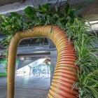 L'installation Le Dragon à deux têtes d'Alexis Tricoire expire au profit d'une œuvre caritative