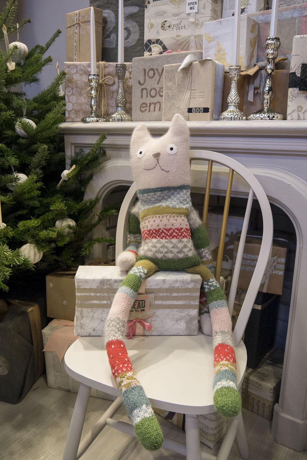 Le doudou XXL par Mini labo une des créations du dernier Marie-Claire Idées spécial Noël