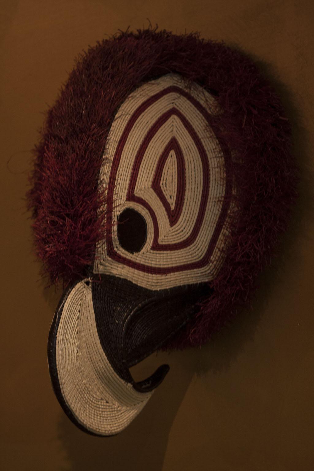 Corinne Bally - société Ethic et Tropic - Masques Chunga, Panama