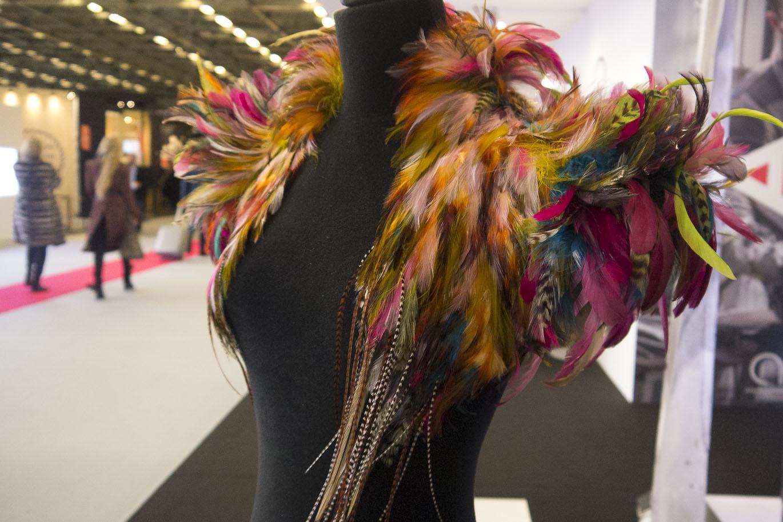 Somptueuse création réalisée pour le film Pan de Joe Wright Costume de Lily la tigresse en collaboration avec Aline Bonetto et Jacqueline Durran - Ateliers d'Art de France