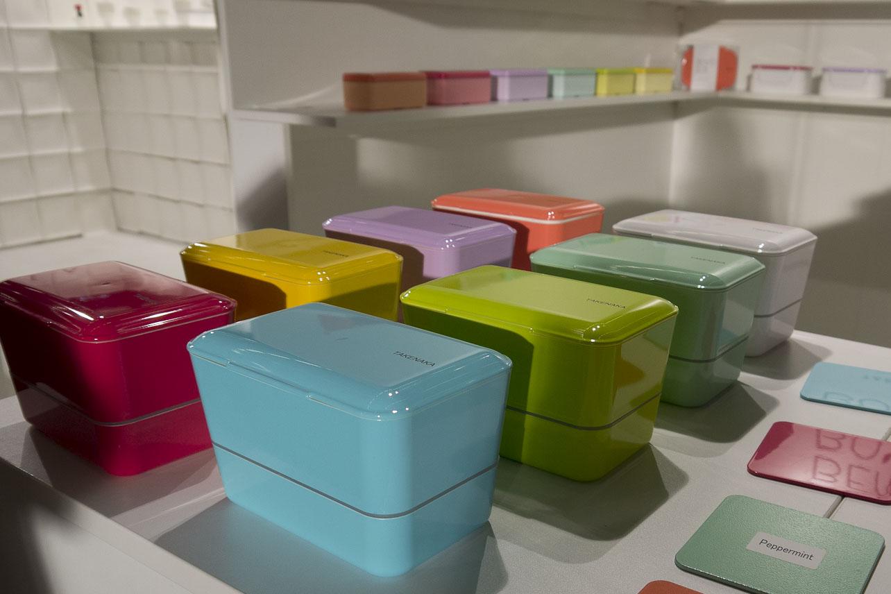 De belles couleurs pour les pique-nique - Bento Takenaka Japan
