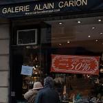 Galerie Alain Carion, météorites et fossiles en promo !