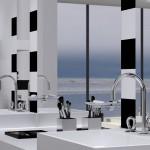 Nouveauté salle de bains : Collection O du Studio Putman pour Christofle par THG